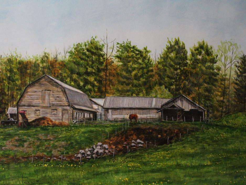 """Pratt's Farm"" (Detail)"