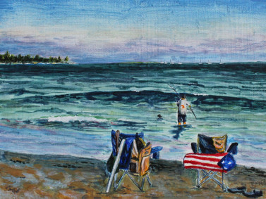 """""""Evening at Pine Point"""""""