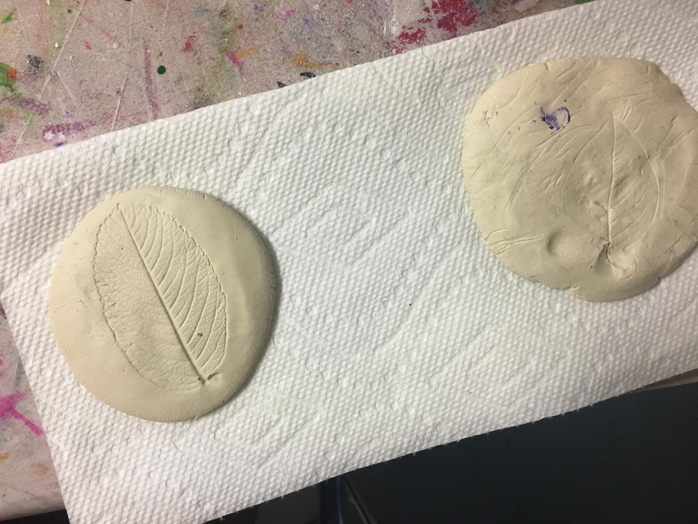 Clay Plant Prints