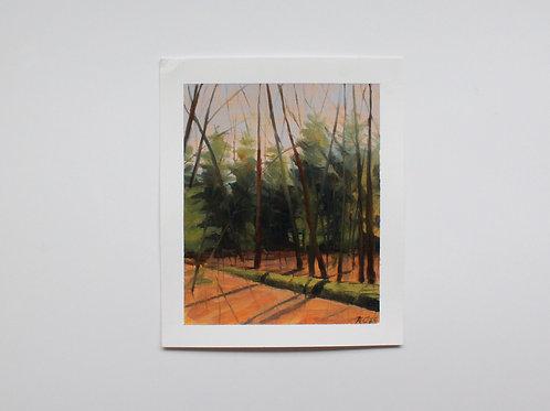 """""""Renewal"""" 5x6 original oil painting"""