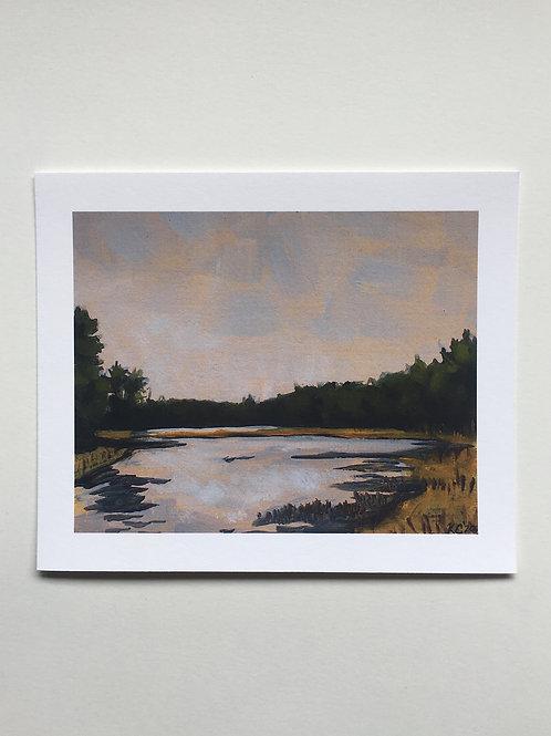 """Adams Point"" 5x6 print"