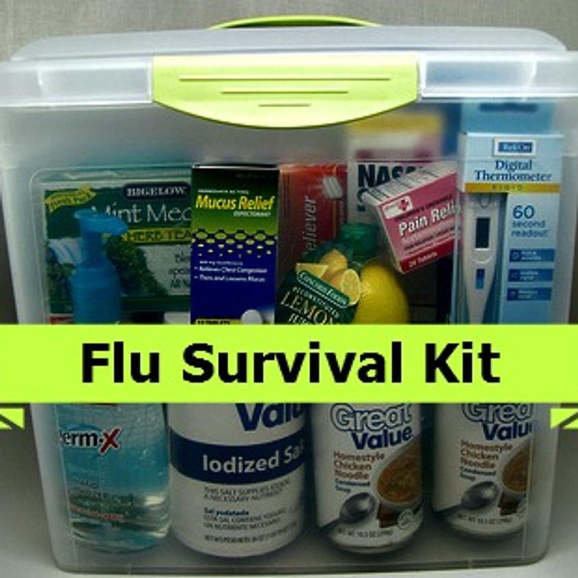 Distributing Flu Kits 11/20