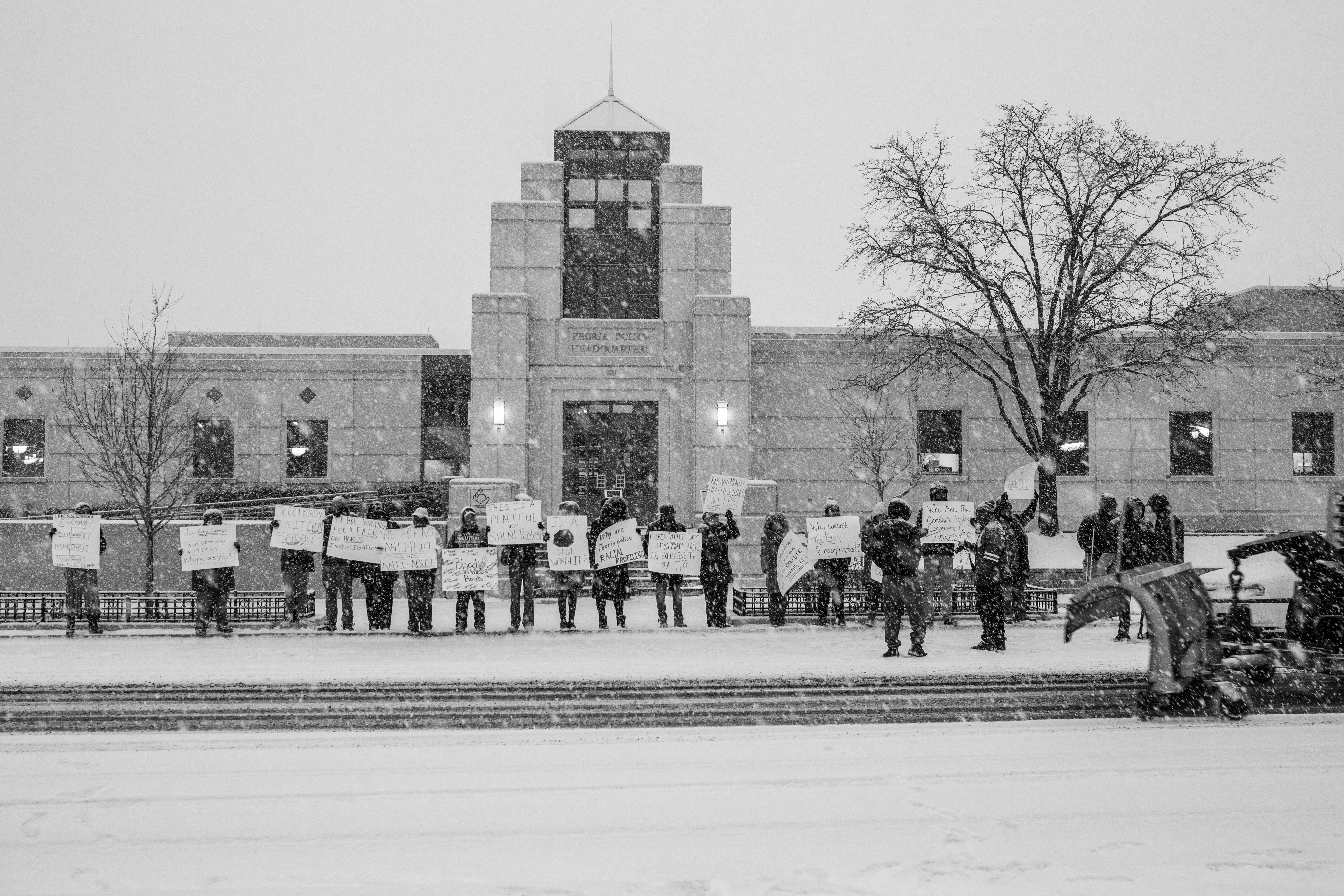 Protest Photoshoot Illinois