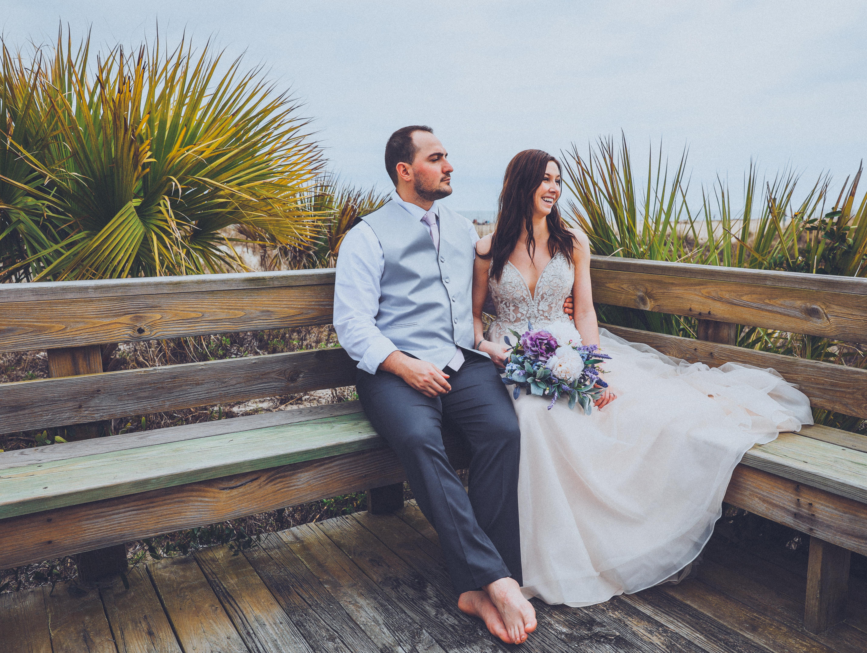 Destination Beach Wedding Savannah Georgia
