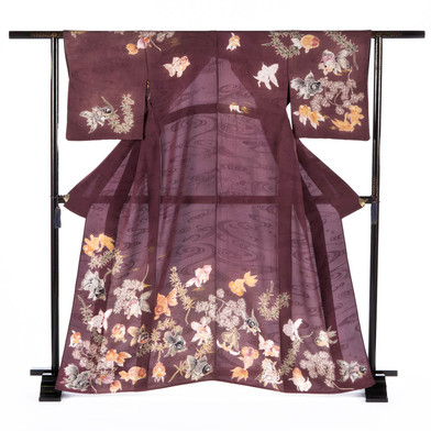 Gols Fish- Semi Formal Kimono