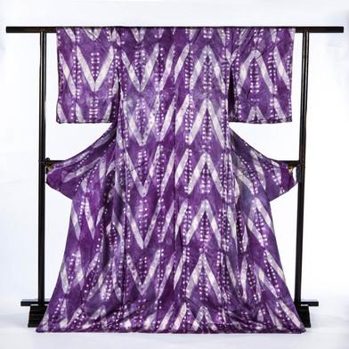 Tie and Groimwell Root Dye Kimono