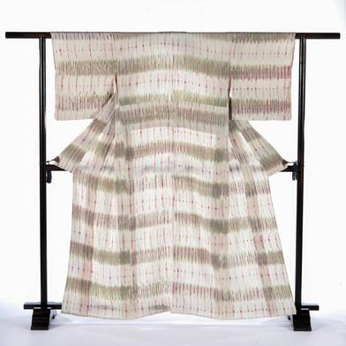 Tie and Natural Dye Kimono