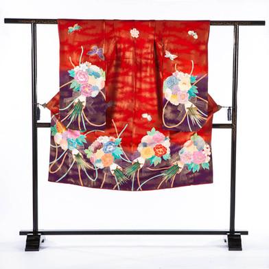 Girl's Formal Kimono- Bouquet