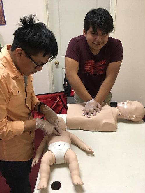 Primeros Aux,RCP/AED-Pediat y Adultos