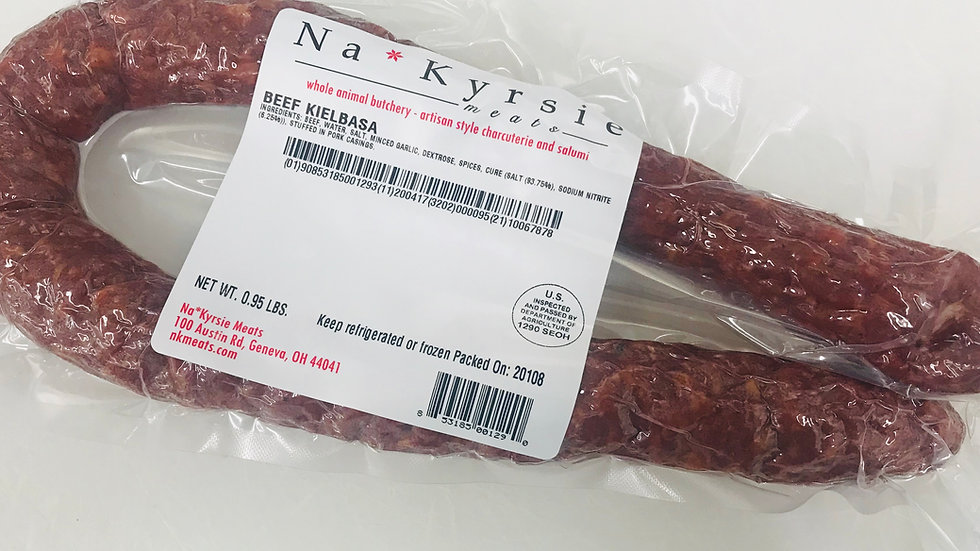 Beef Kielbasa