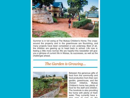 Mukaa Summer Newsletter