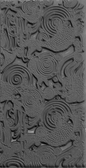 Texture Tiles -  Carp (TTL603)
