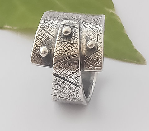 SILVER METAL CLAY RINGS COURSE