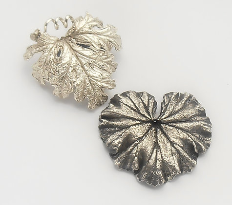 NATURAL FORMS IN SILVER METAL CLAY COURSE