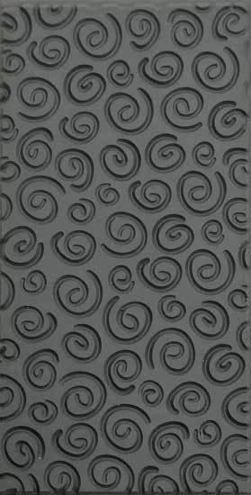 Texture Tiles -  Spirals Embossed (TTL113)