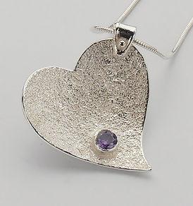 silver heart jewellery
