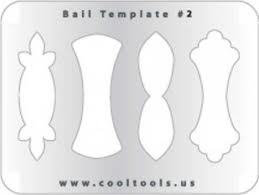 Jewelry shape template - bail # 2