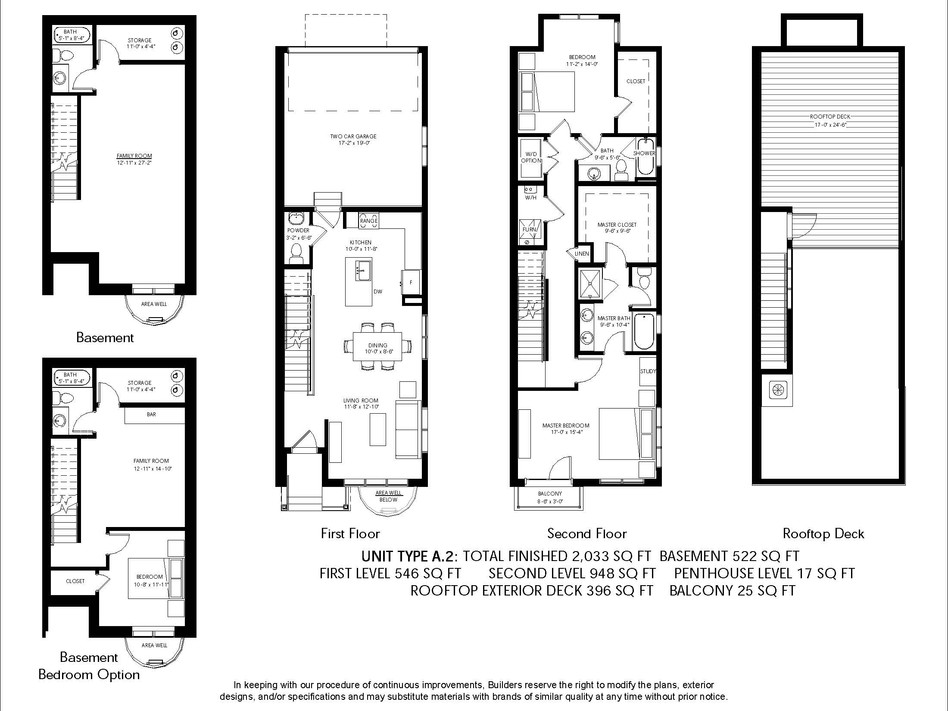 Logan Brownstones Floor Plan A.2