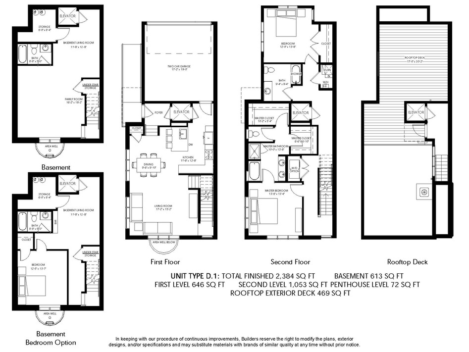 Logan Brownstones Floor Plan D.1