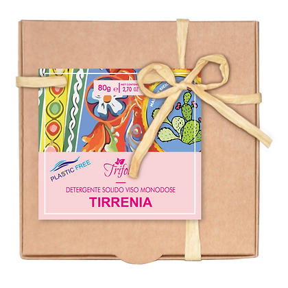 TIRRENIA - DETERGENTE SOLIDO VISO -   16 SEMISFERE MONODOSE