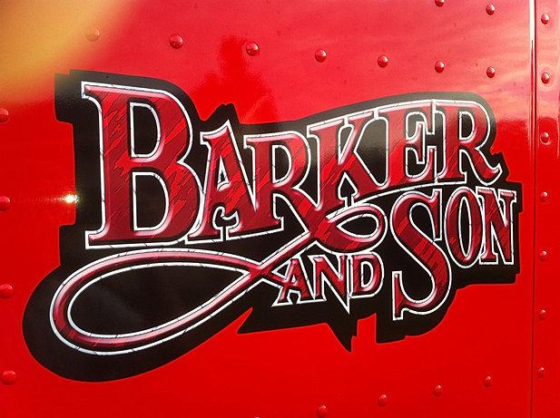 Skeeters designs large truck lettering for Truck lettering design online