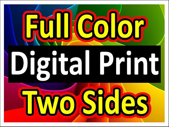 Full Color/2S Digital printed yard signs