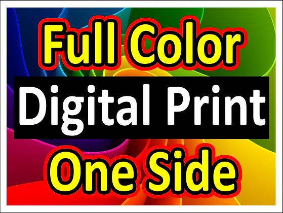Full Color/1S Digital printed yard signs