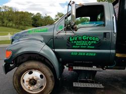 Livin Green Truck