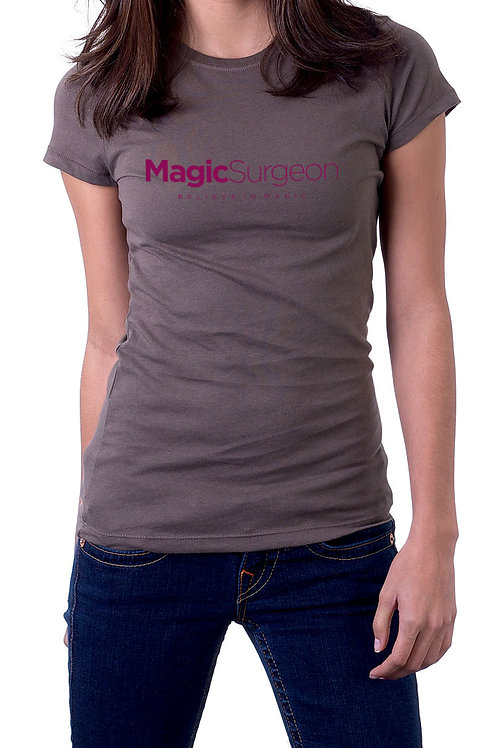 MagicSurgeon Gray T-Shirt Female