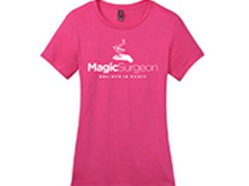 MagicSurgeon Pink T-Shirt Female