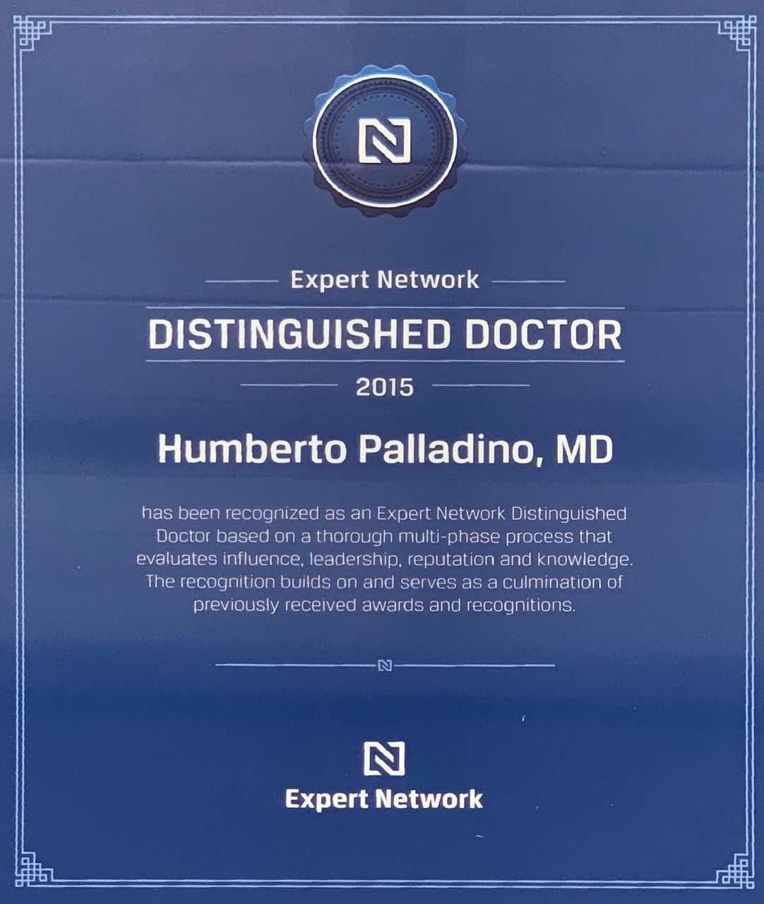 Expert Network Distinction