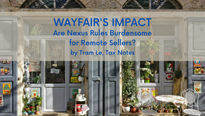 Wayfair's Impact: Undue Burden or Just Burdensome for Remote Sellers?