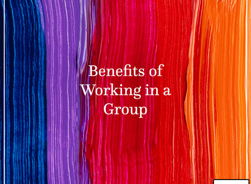 Benefits of working in a group