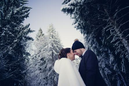 Mariage d'hiver photo