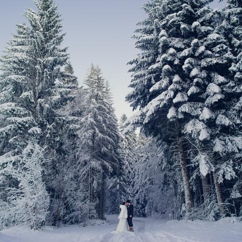 Shooting after Day à la neige avec Coline et Adrien !