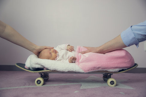 Bébé qui roule