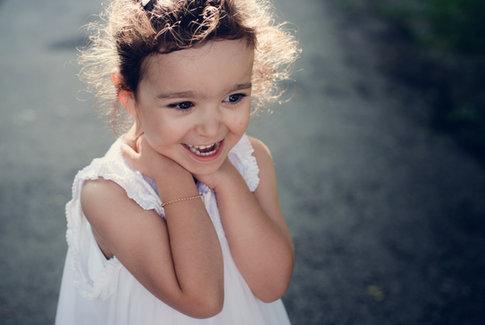 Enfant heureuse