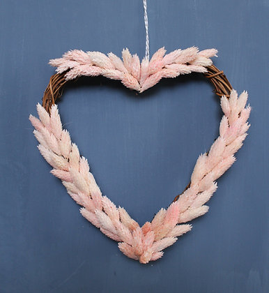 Pink Dried Heart