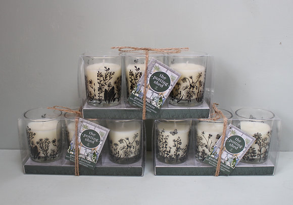 Potting Shed Candle Trio