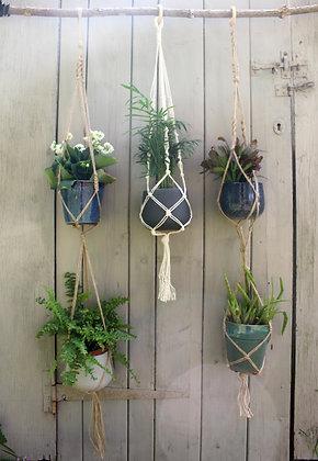 Handmade Macramé Pot Hangers