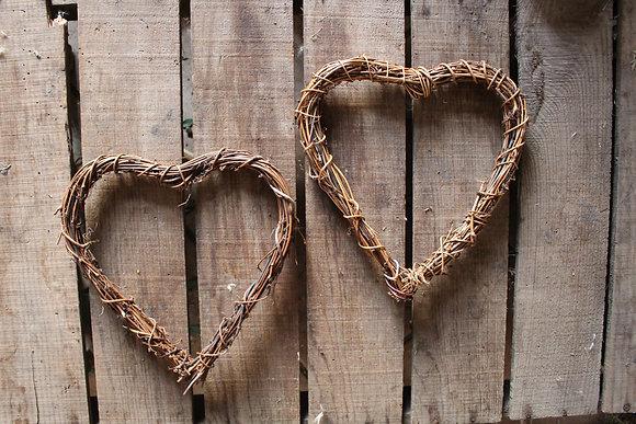 Vine Heart shaped Wreath Ring