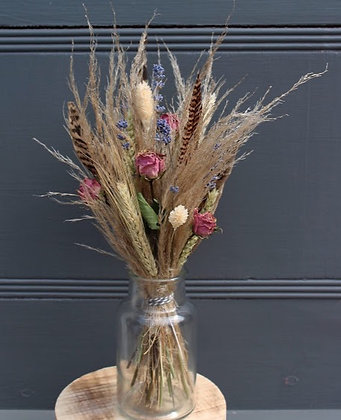 Norfolk Countryside Dried Vase
