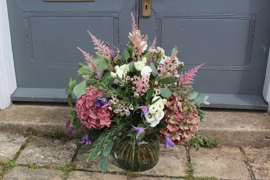 Hydrangea vase