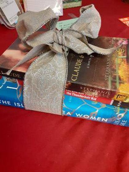 Item #73. Three books.
