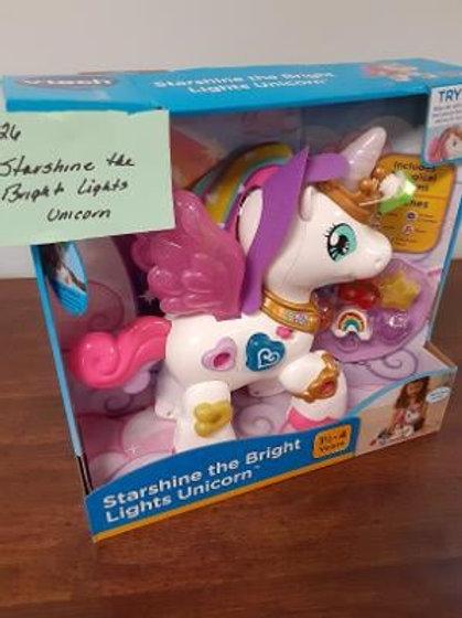 Item #26. Starbrite the Bright Lights Unicorn.