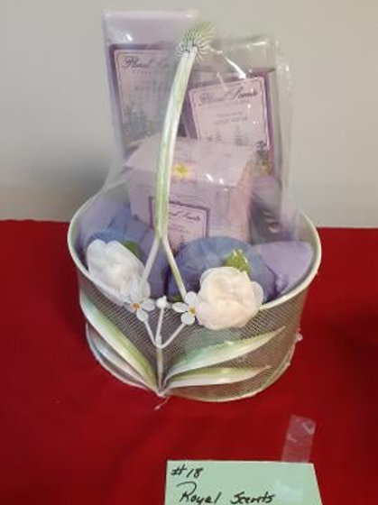 Item #18. Royal Scents Lavender bath set