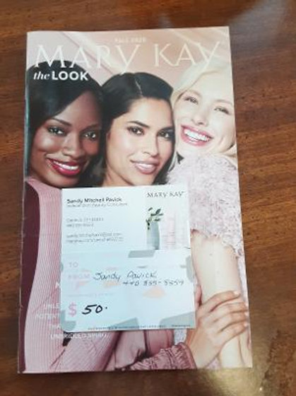 Item #41. $50 Mary Kay gift card.