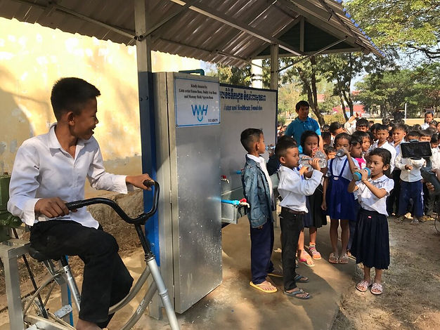 Cambodia+clean+water+new+WAH+bikepump+sy
