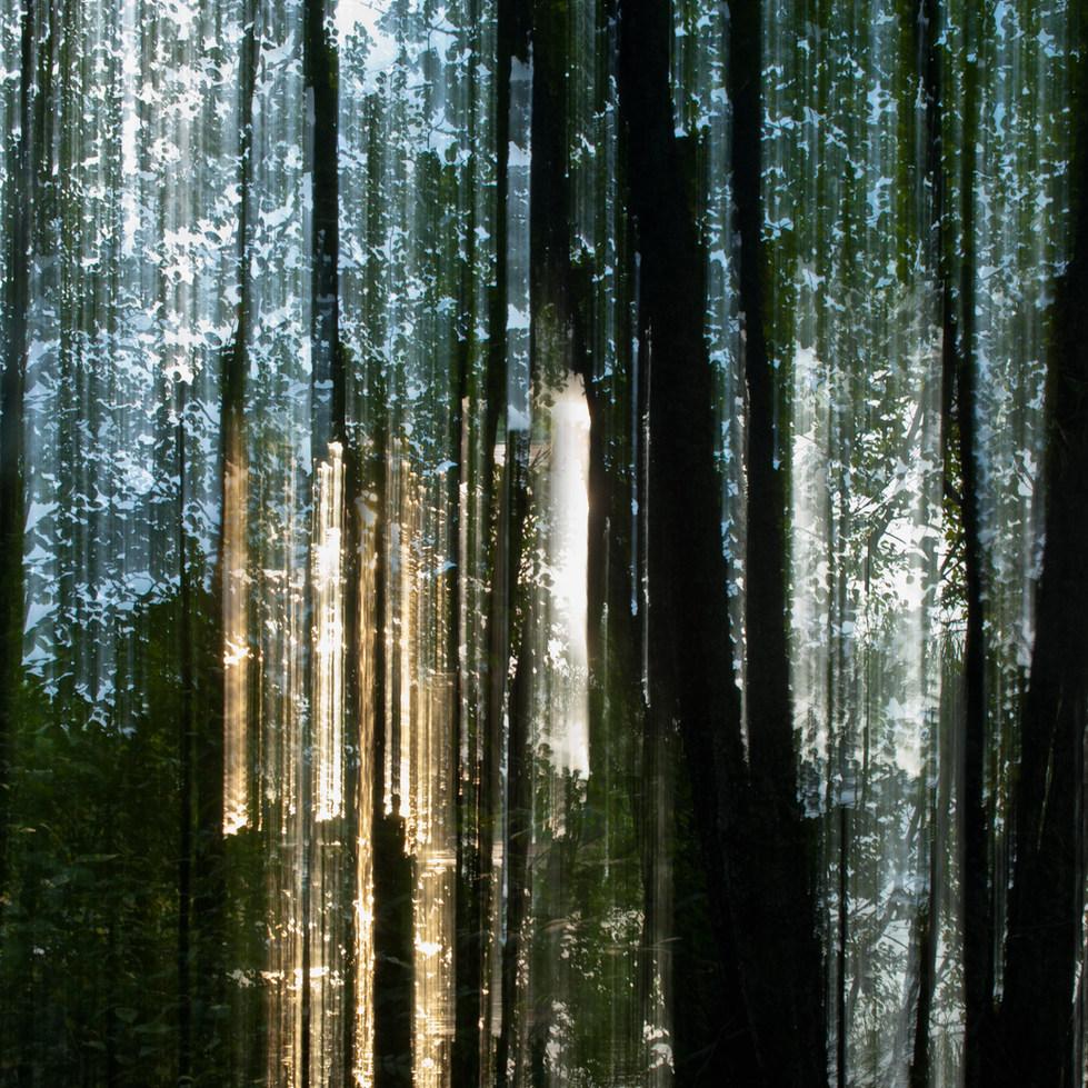 Auringon säde / Beam of Light 2015 Chromaluxe Metal Print, 40 cm x 40 cm 1/10