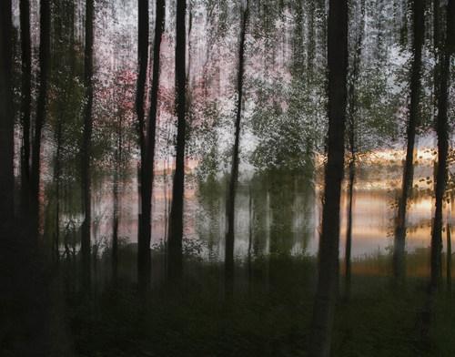 Auringonlasku / Sunset 2016 Fotosec (pigmenttivedos akryylille /  pigment print on acrylic)